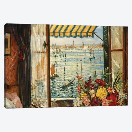 From a Venetian Window, 1934 Canvas Print #BMN9150} by Christopher Richard Wynne Nevinson Canvas Art Print