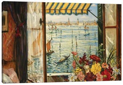 From a Venetian Window, 1934 Canvas Art Print