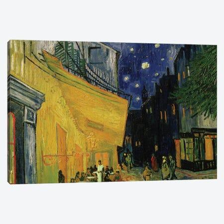 Cafe Terrace, Place du Forum, Arles, 1888 Canvas Print #BMN9152} by Vincent van Gogh Canvas Art Print