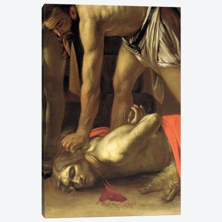 The Decapitation of St. John the Baptist, 1608 Canvas Print #BMN9153} by Michelangelo Merisi da Caravaggio Art Print