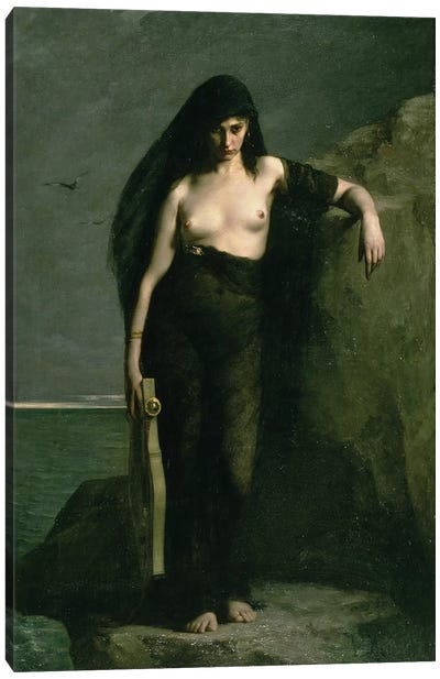 Sappho, 1877 Canvas Art Print