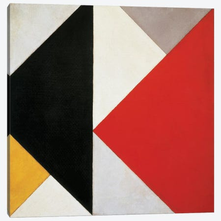 Counter-Composition, 1925-26 Canvas Print #BMN9165} by Theo Van Doesburg Canvas Art Print