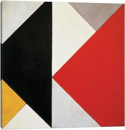 Counter-Composition, 1925-26 Canvas Art Print
