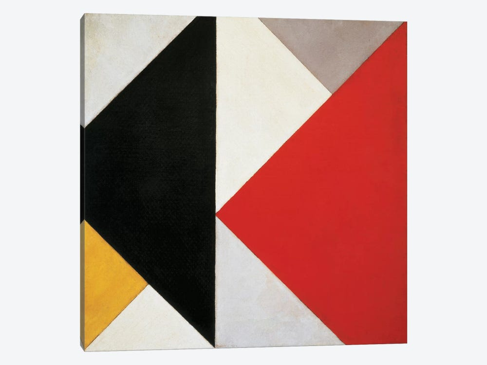 Counter-Composition, 1925-26 by Theo Van Doesburg 1-piece Canvas Artwork