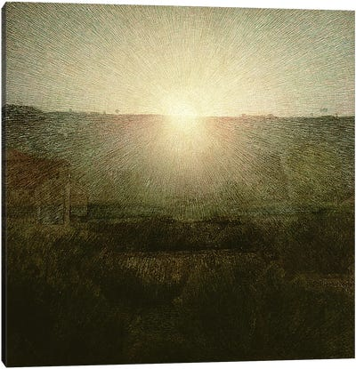 The Sun Canvas Art Print