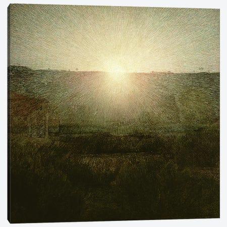 The Sun  Canvas Print #BMN916} by Giuseppe Pellizza da Volpedo Canvas Art Print