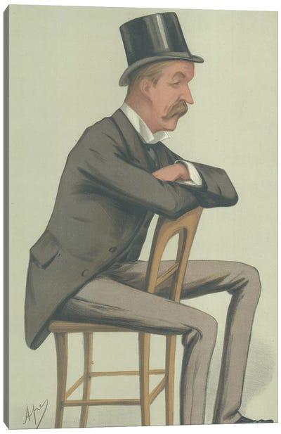 The Hon Oliver George Paulett Montagu Canvas Art Print