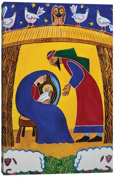 The Nativity Canvas Art Print