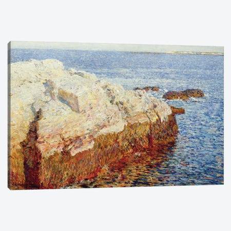 Cliff Rock, Appledore, 1903 Canvas Print #BMN9177} by Childe Frederick Hassam Canvas Wall Art