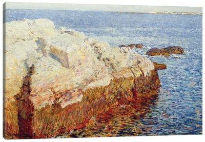 Cliff Rock, Appledore, 1903 Canvas Art Print