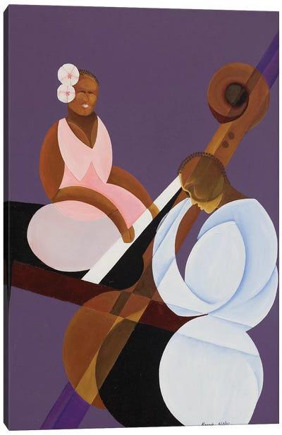 Lavender Jazz, 2007 Canvas Art Print