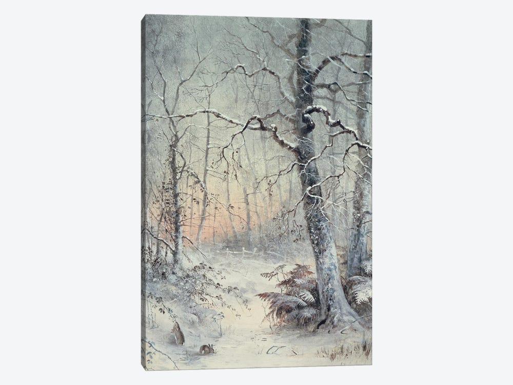 Winter Breakfast by Joseph Farquharson 1-piece Canvas Artwork
