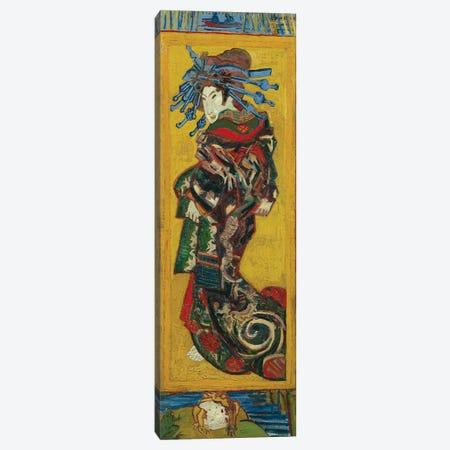 Japonaiserie: Courtesan or Oiran , Paris, 1887 Canvas Print #BMN9188} by Vincent van Gogh Canvas Wall Art