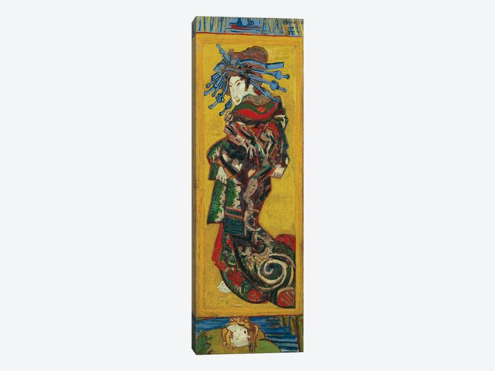 Japonaiserie: Courtesan or Oiran , Paris, 1887 by Vincent van Gogh 1-piece Art Print