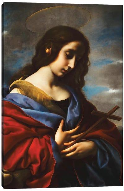 Saint Mary Magdalen, c.1650s Canvas Art Print
