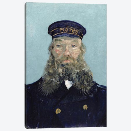 Portrait of Postman Roulin, 1888 Canvas Print #BMN9206} by Vincent van Gogh Canvas Art
