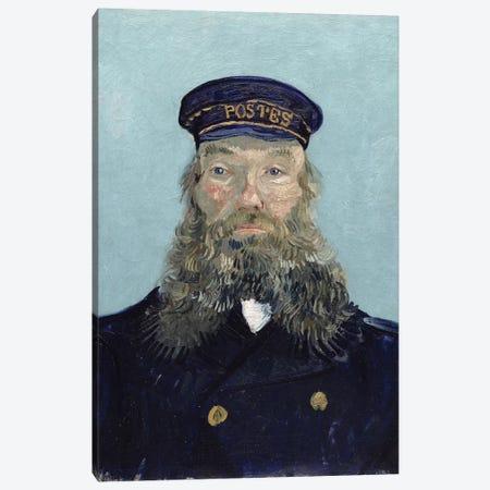 Portrait of Postman Roulin, 1888 3-Piece Canvas #BMN9206} by Vincent van Gogh Canvas Art