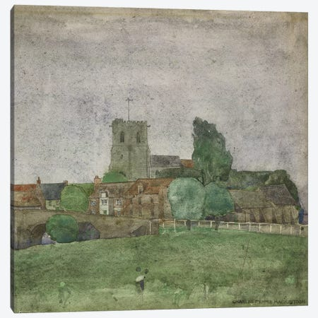 Wareham, Dorset, 1895 Canvas Print #BMN9216} by Charles Rennie Mackintosh Art Print