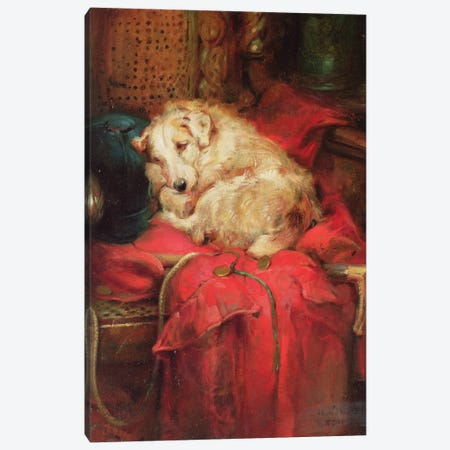 Tired Out Canvas Print #BMN921} by Philip Eustace Stretton Canvas Print