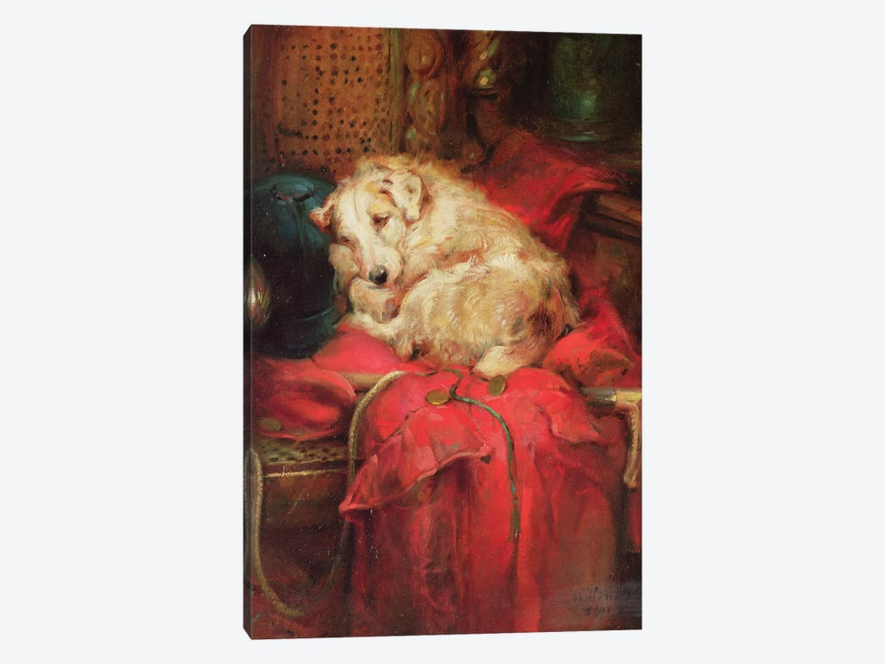 Tired Out by Philip Eustace Stretton 1-piece Canvas Art