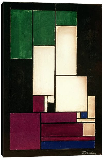 Composition, 1922  Canvas Print #BMN922