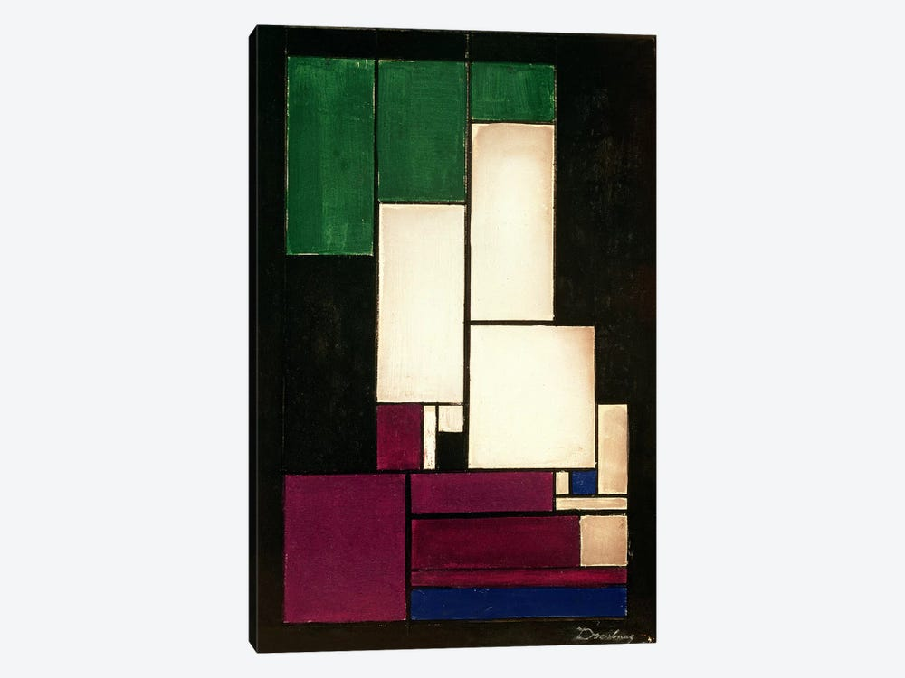 Composition, 1922  by Theo Van Doesburg 1-piece Canvas Print