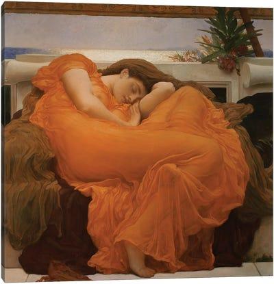Flaming June, c.1895 Canvas Art Print
