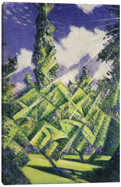 The Four Seasons: Summer, c.1919 Canvas Art Print