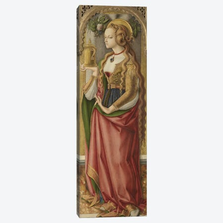 Mary Magdalene, c.1480 Canvas Print #BMN9244} by Carlo Crivelli Canvas Art