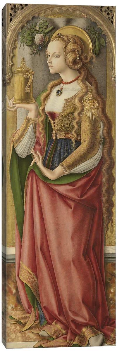 Mary Magdalene, c.1480 Canvas Art Print