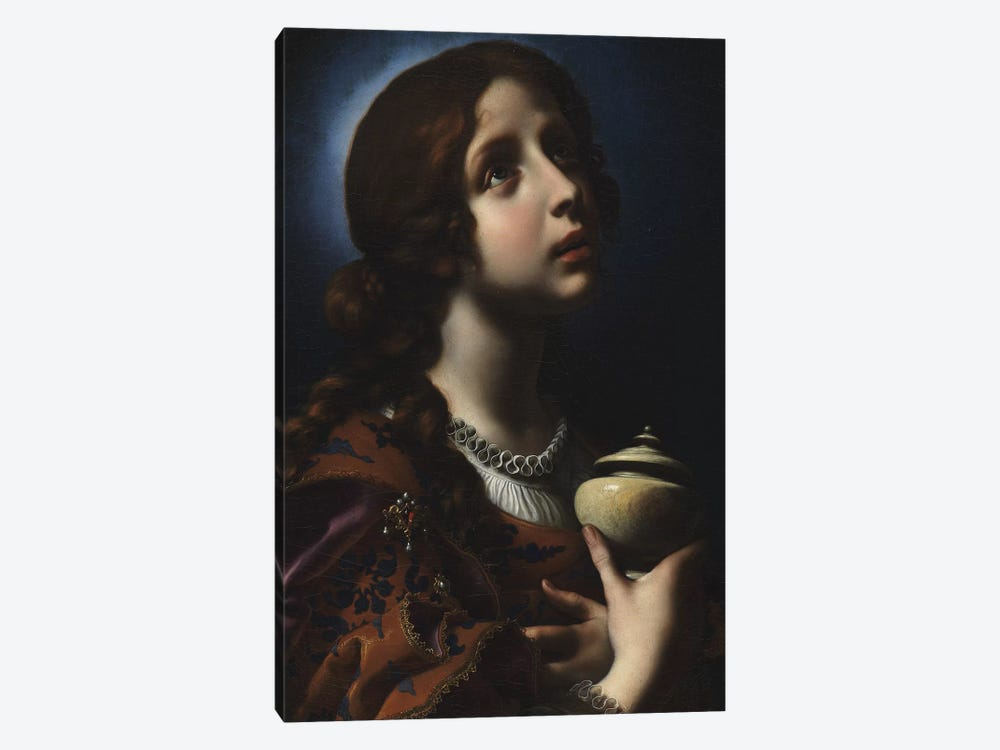 The Penitent Magdalene, c.1650-51 by Carlo Dolci 1-piece Canvas Artwork