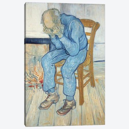 Old Man in Sorrow  1890 Canvas Print #BMN9255} by Vincent van Gogh Canvas Print