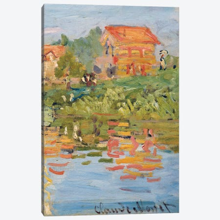 Regattas at Argenteuil, c.1872 Canvas Print #BMN9257} by Claude Monet Canvas Art Print