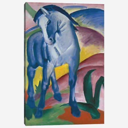 Blue Horse, 1911 Canvas Print #BMN9258} by Franz Marc Canvas Art