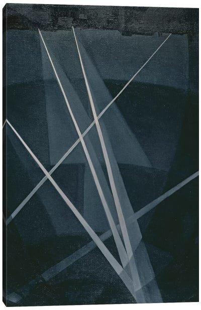 Searchlights, 1915-16 Canvas Art Print