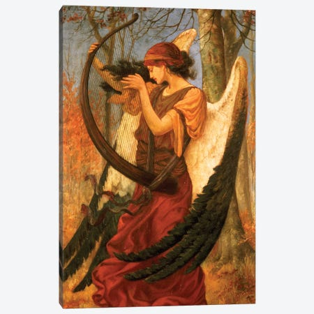 Titania's Awakening, 1896 Canvas Print #BMN9266} by Charles Sims Canvas Artwork