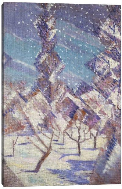 The Four Seasons: Winter, c.1919 Canvas Art Print