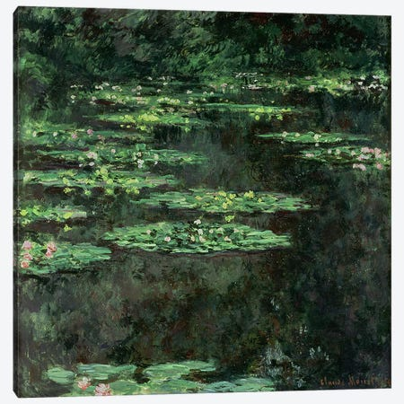 Waterlilies, 1904  Canvas Print #BMN928} by Claude Monet Canvas Art Print