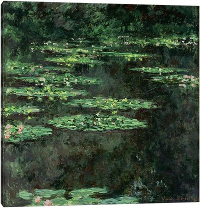 Waterlilies, 1904 Canvas Art Print