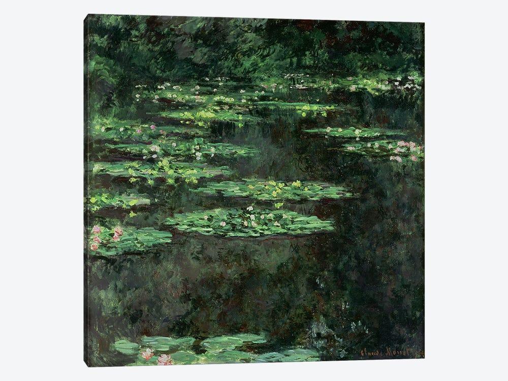Waterlilies, 1904  by Claude Monet 1-piece Canvas Art Print