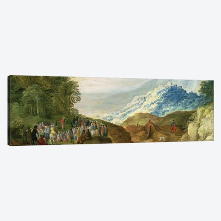 The Sermon on the Mount  Canvas Print #BMN929} by Joss de Momper Canvas Print