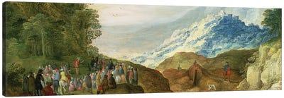 The Sermon on the Mount  Canvas Art Print
