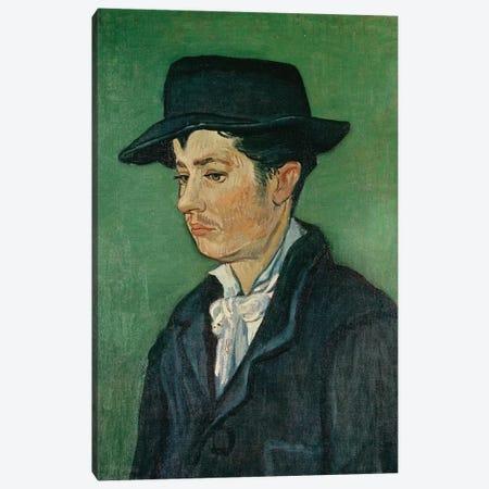 Portrait of Armand Roulin, 1888 Canvas Print #BMN9300} by Vincent van Gogh Canvas Wall Art