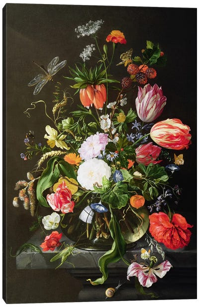 Still Life of Flowers Canvas Print #BMN930