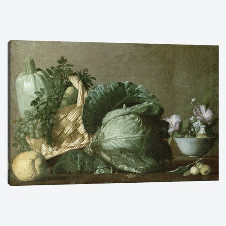 Still Life Canvas Print #BMN9319} by Michelangelo Merisi da Caravaggio Canvas Print
