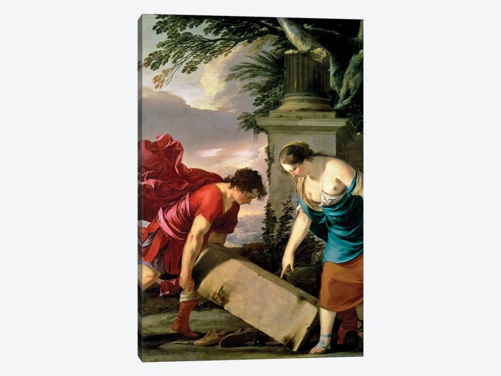 Theseus and his Mother Aethra, c.1635-36  by Laurent de La Hyre 1-piece Art Print