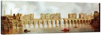 View of London Bridge, c.1632 Canvas Art Print
