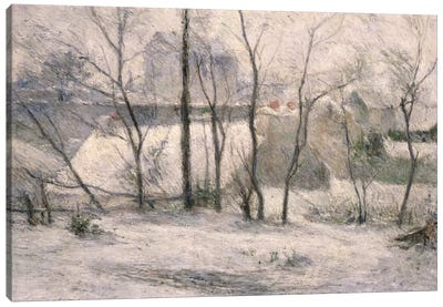 Winter Landscape, 1879  Canvas Art Print