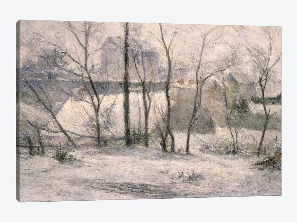 Winter Landscape, 1879  by Paul Gauguin 1-piece Canvas Wall Art