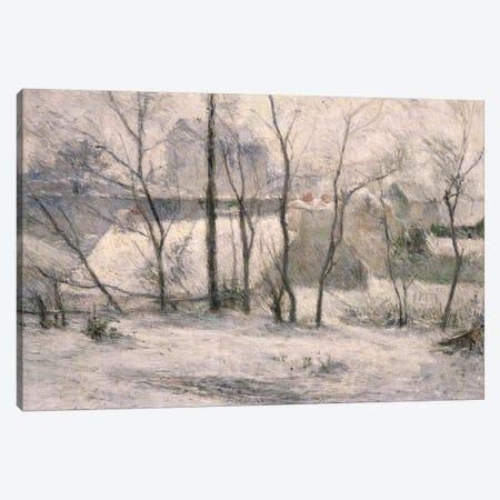 Winter Landscape, 1879  Canvas Print #BMN932} by Paul Gauguin Canvas Wall Art